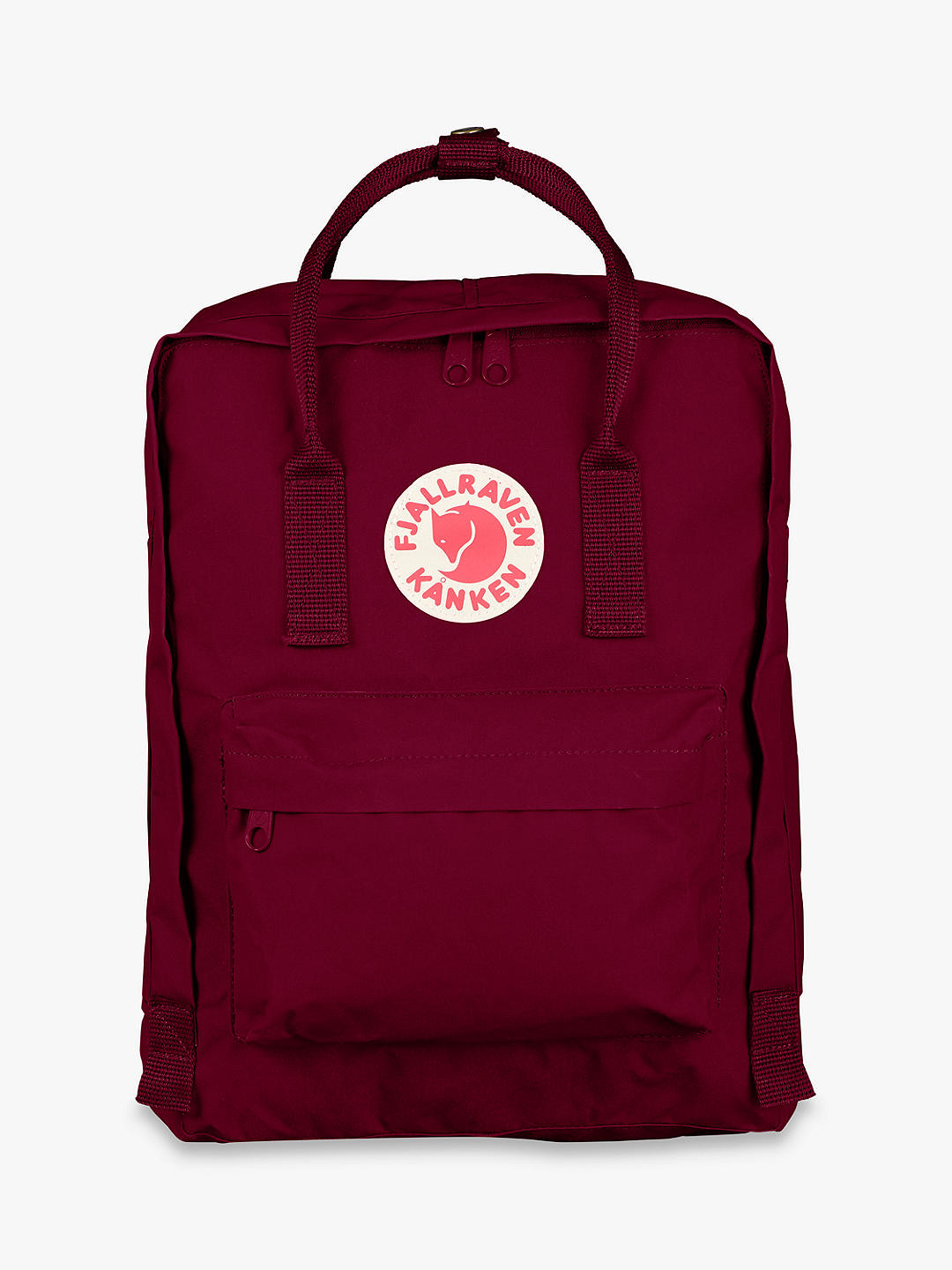 Iconic Kånken backpack with a padded 15 inch laptop pocket.