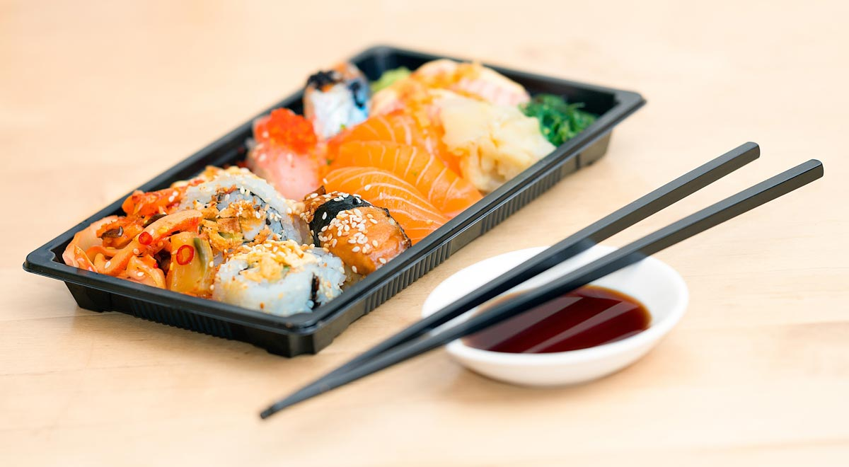 Sushi started out as a cheap way to eat, but with its growing popularity it is now often expensive.