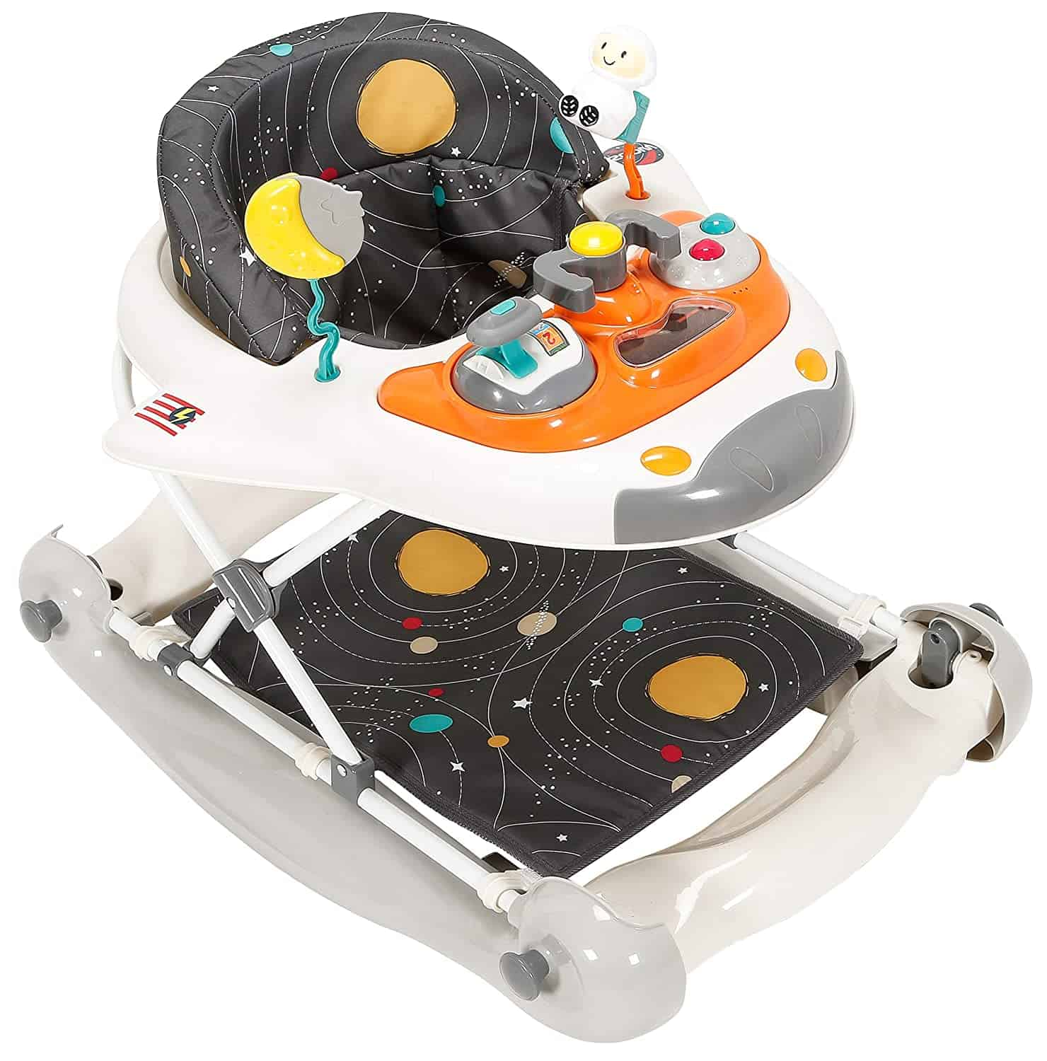 Out of this world 2 in 1 space shuttle walker.