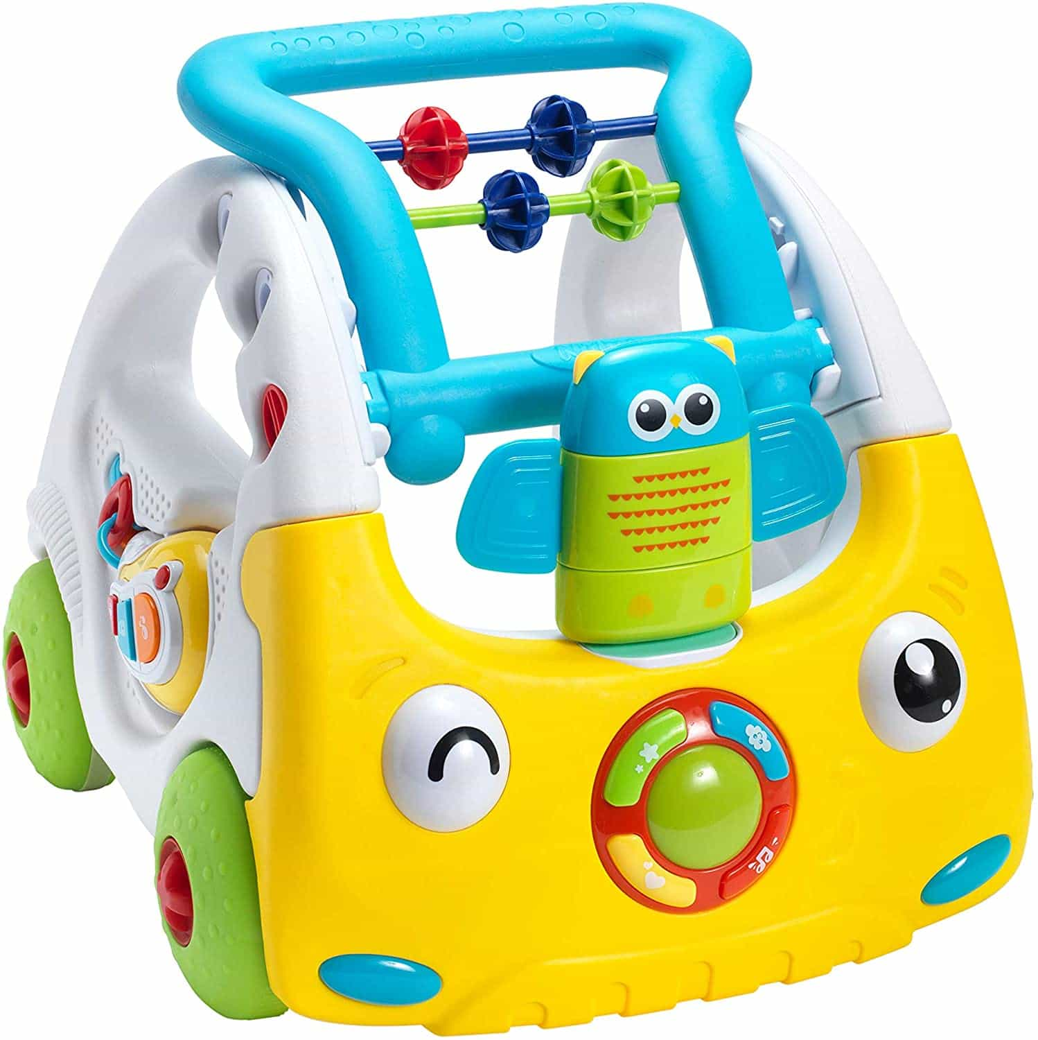 Nuby interactive baby walker with lights and sounds.