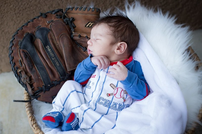 There are many inspirational baseball-related names you can choose for your baby.