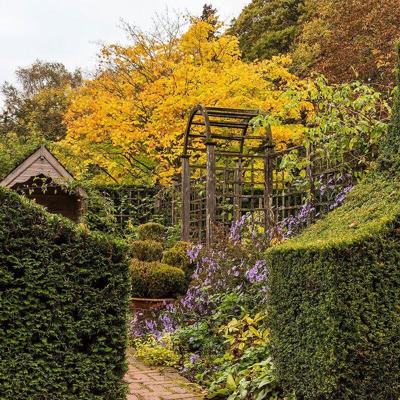 Gentlemen's Cottage at Barnsdale Gardens.