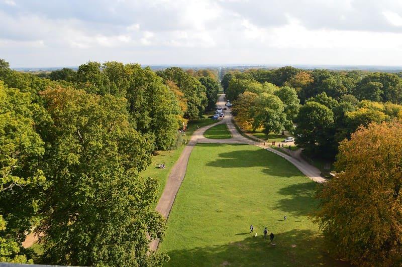 Ashridge Estate has beautiful outdoor grounds for children to enjoy.