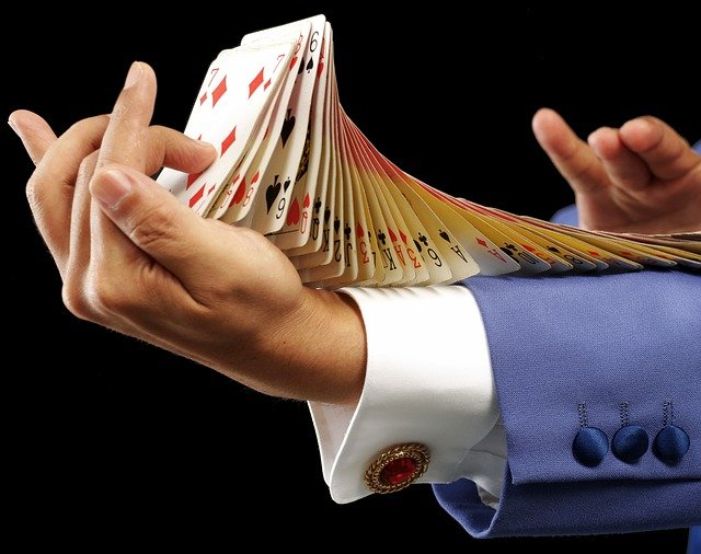 Magicians have various kind of tricks up their sleeves.