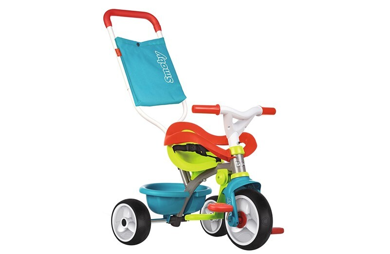 Safe, fun and colorful baby trike tricycle.