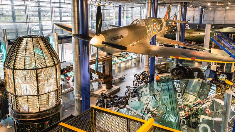 The Spitfire gallery at the Thinktank Birmingham Science Museum.