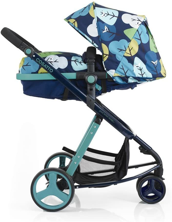 Suitable and easily move multi color facing parent pushchair.
