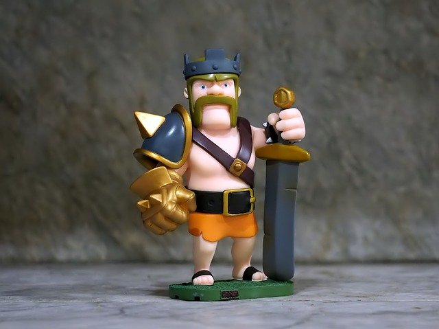Figurine of a Barbarian King.