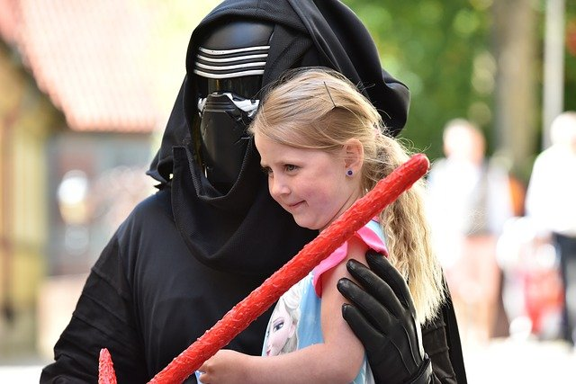 Little girls may be inspired by their favourite female Jedi.
