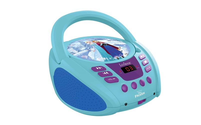Disney design of frozen boombox perfect for kids.