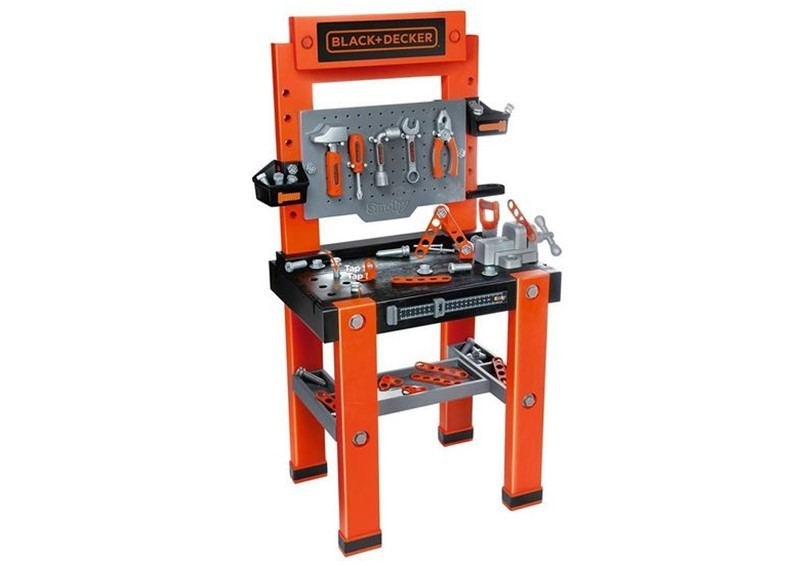 Fantastic black and decker kids bench with set of tools use to mechanic play for kids.