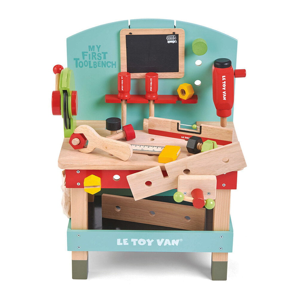 Sturdy, durable and interactive tool workbench with colorful design.