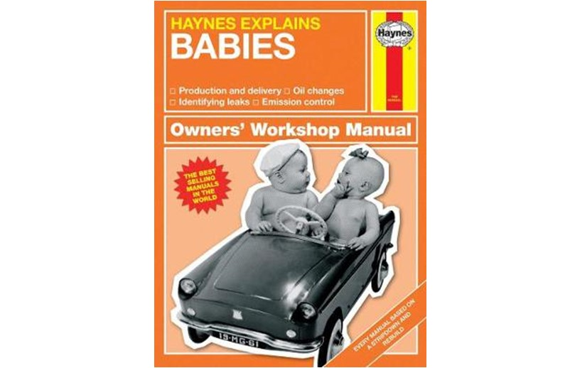 Educational book for you to know more and understand the babies..