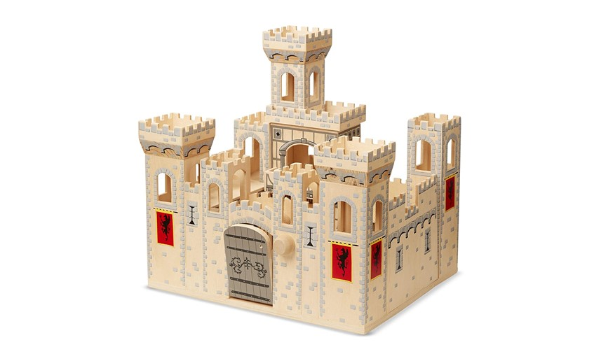 Fun, elegant and durable medieval castle.