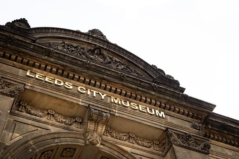 Leeds City Museum building exterior.