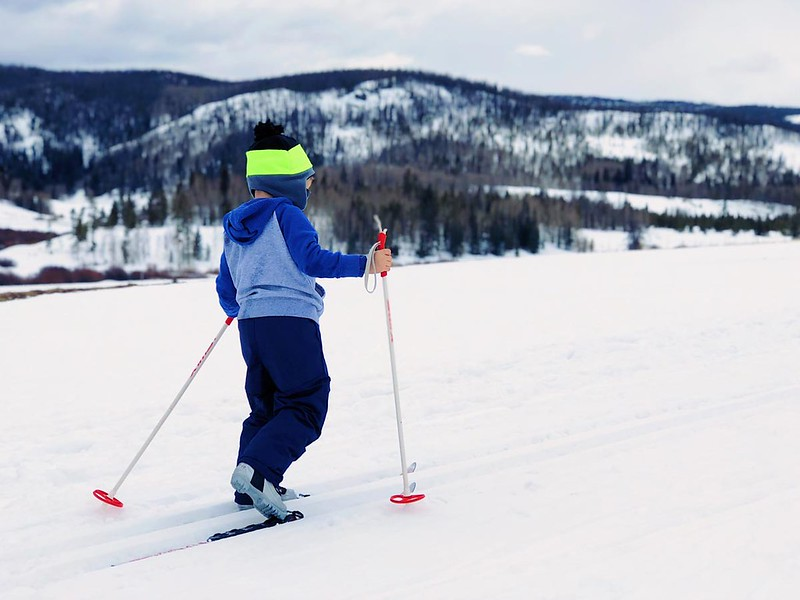 Skiing puns are funny because they use wordplay to make us laugh.