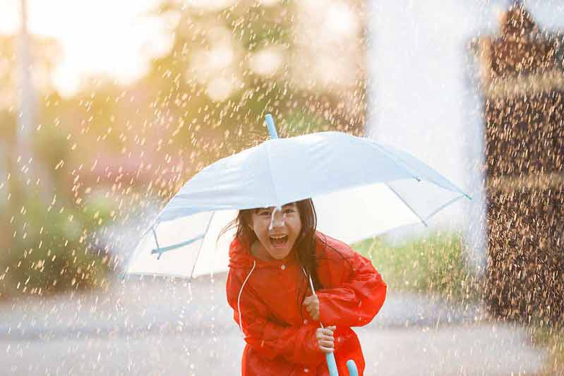 A classic rain joke is great for sharing with the family and getting everyone laughing.