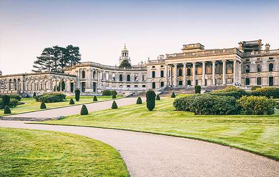 The exterior of Witley Court.