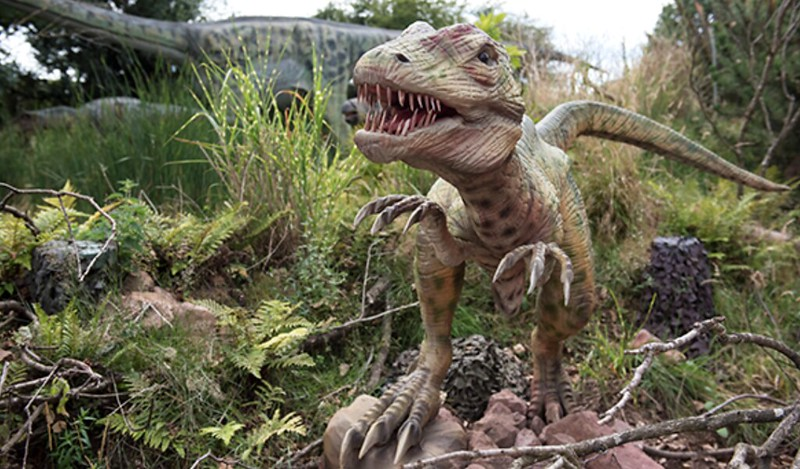 An Eoraptor in Land of the Living Dinosaurs.