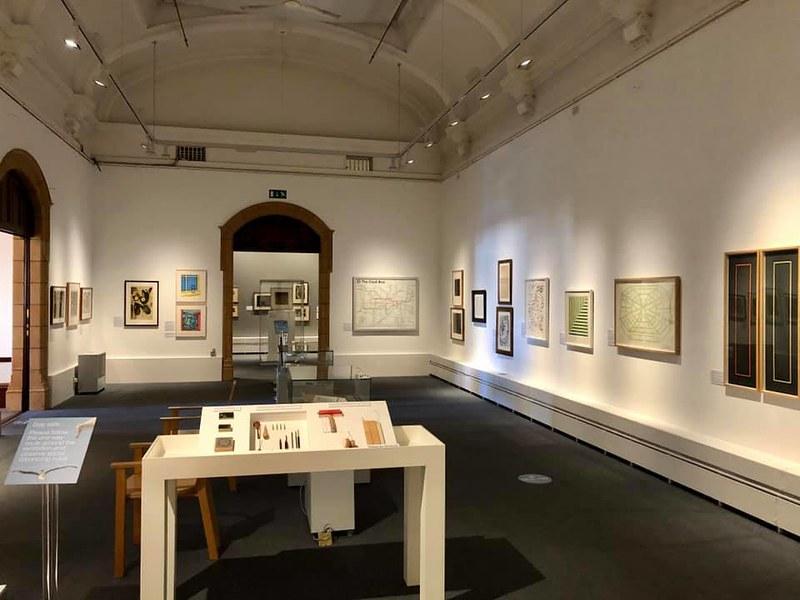 Worcester City Art Gallery Museum exhibit.