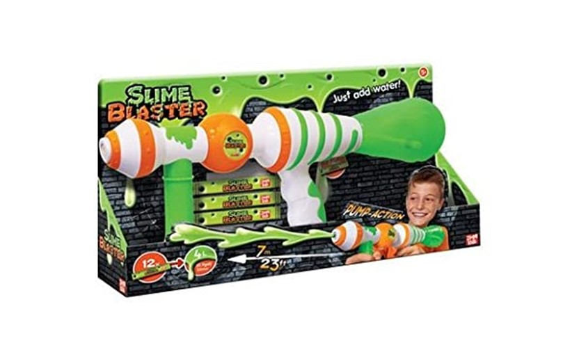 Fun and more exciting green slime baster gun.