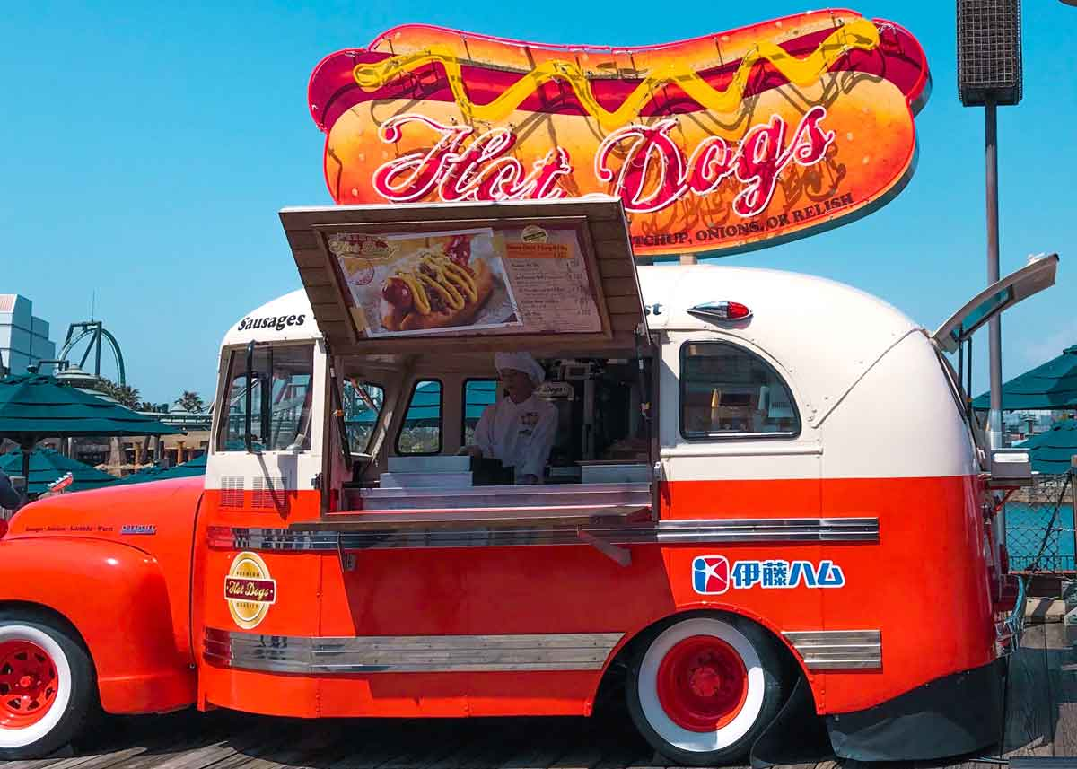 Hot dog puns are funny because they use wordplay to make us laugh.