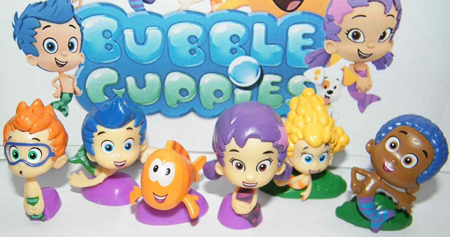 'Bubble Guppies' is a popular TV series.