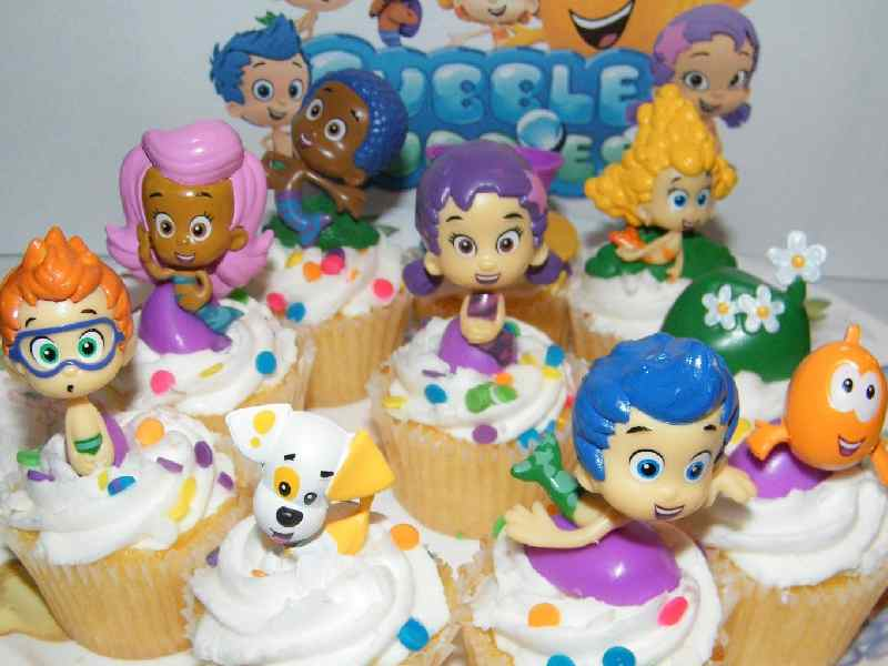 (Kids love the 'Bubble Guppies' characters.