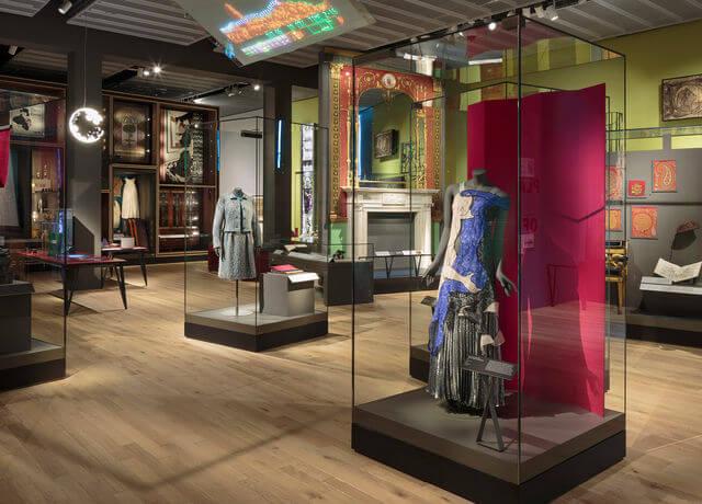 The permanent Scottish Design Galleries.