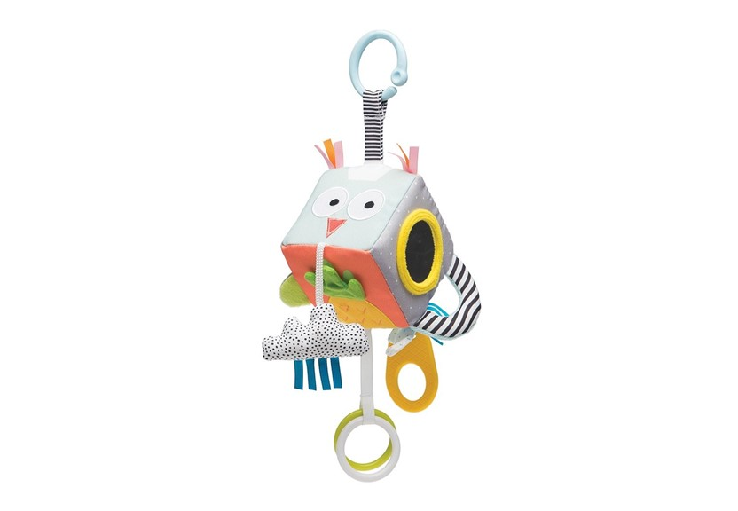 Mini hanging cube with unique designs best for babies enhancer that help to their development and enhancing