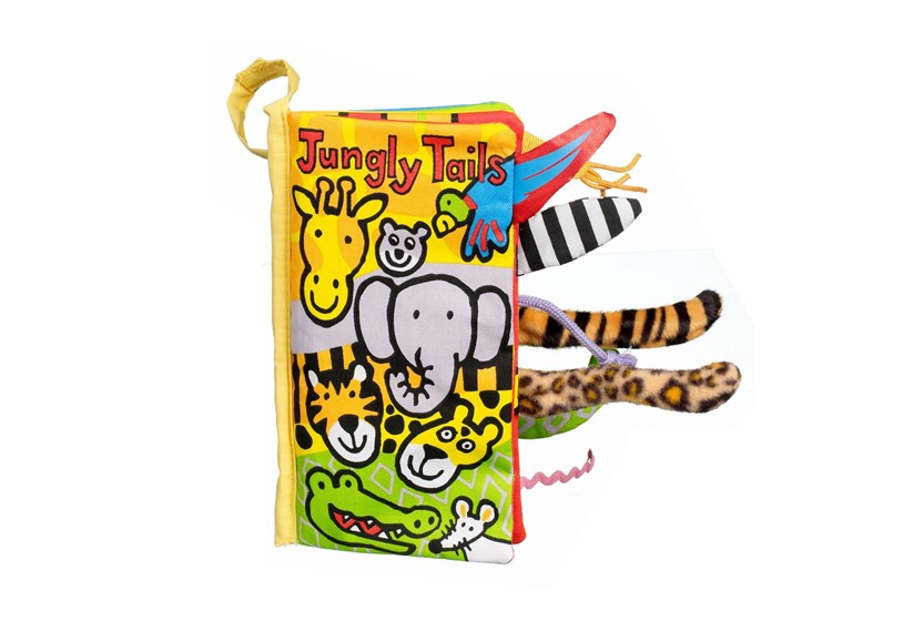 Unique and safe jungly tails books that helps children animals identifying.