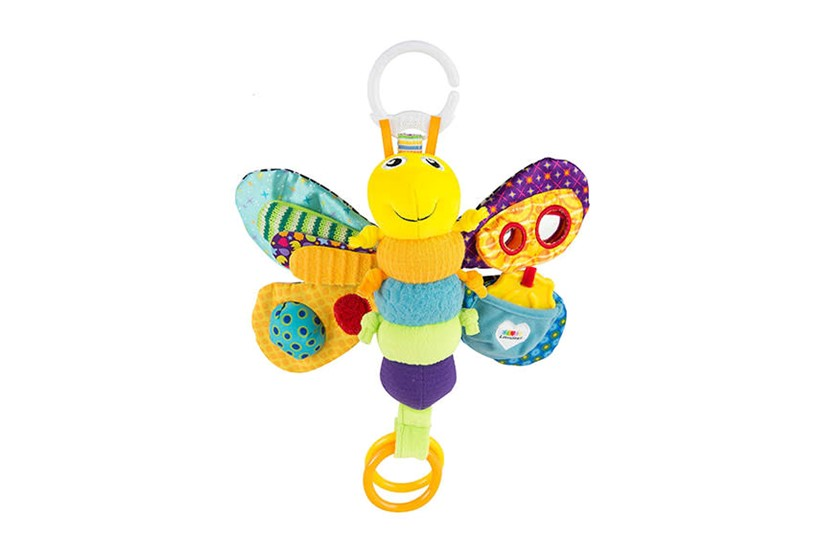 Colorful firefly with different interesting designs that helps baby's sense stimulation.