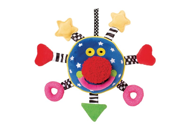 Unique design containing different pattern, colors and shape best for baby's entertainment.