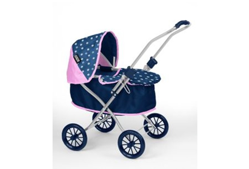 Realistic dolls pram for kids best for outdoor activity or trips.