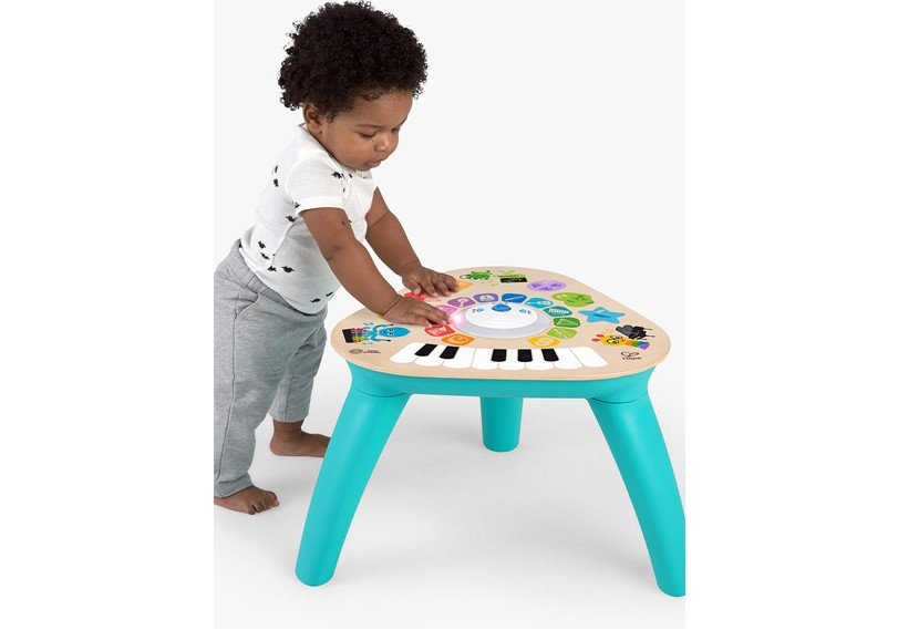 Simple but elegant multi-purpose compose or musical activity Table.