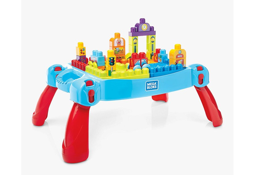Mega Bloks First Builders Build'n Learn Table - John Lewis.