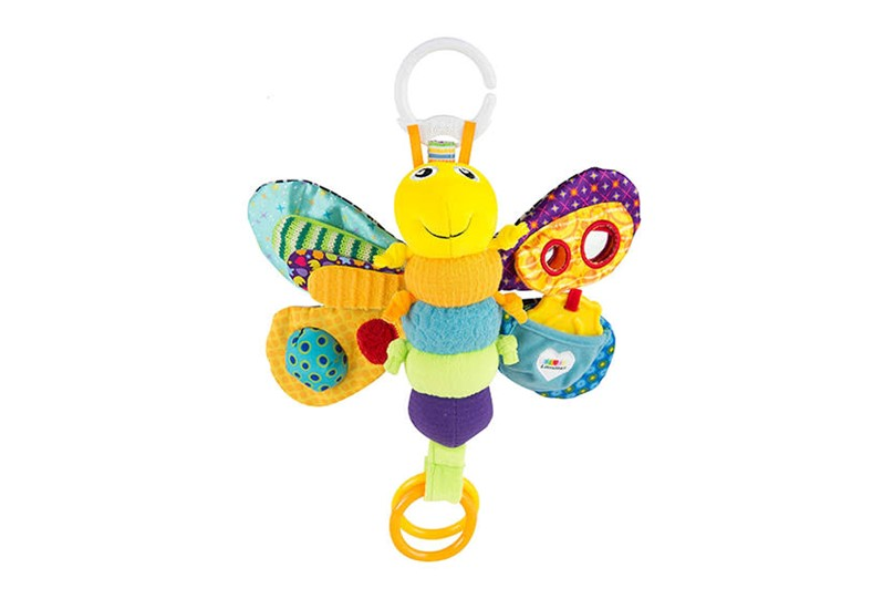 Educational and attractive lamaze play and go the freddie the toy that consist of different colors, textures, and patterns that helps stimulating senses and gives entertainment for babies.