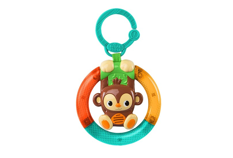 Colorful and multi function shake and glow monkey to produce bright light that will gives entertainment to kids.