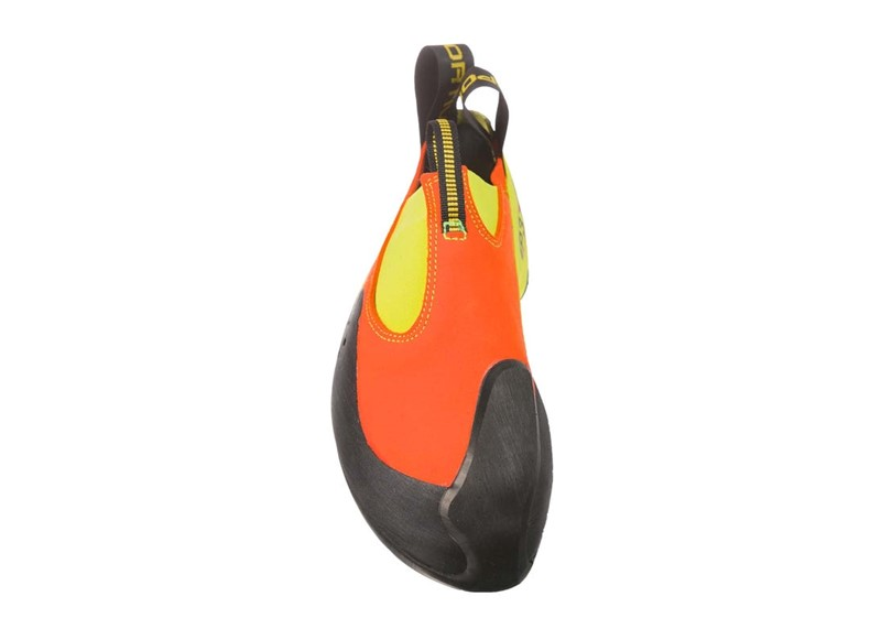 Suitable, light weight and no edge unique design of climbing shoes to reduce pressure in the feet.
