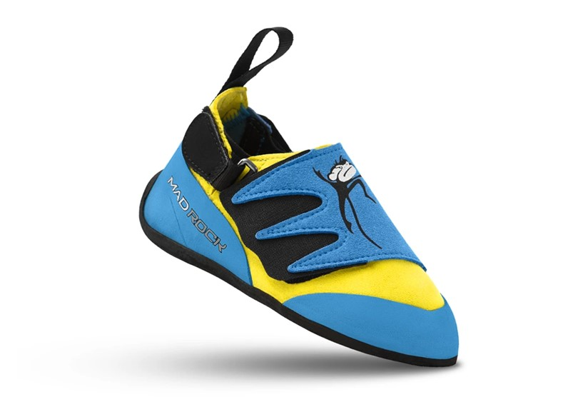 Upgraded version of mad monkey climbing shoes that more comfortable and stretchy or flexible perfect for growing feet of kids.