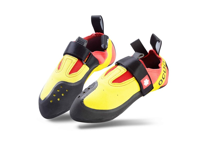 Comfortable, adjustable, secure and high quality shoes best for competition and advance climbing.