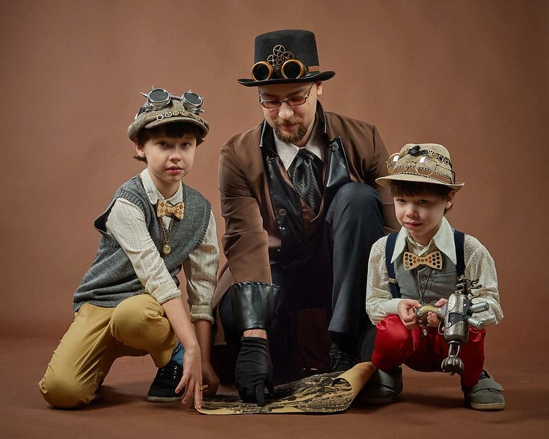 Steampunk is a fun genre to read and watch and there are a lot of inspiration names to choose from them.