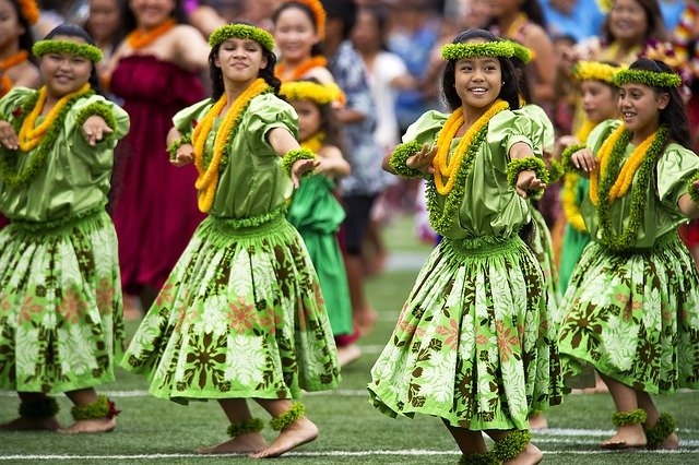 Hawaii has a vibrant culture with lots of exciting names.