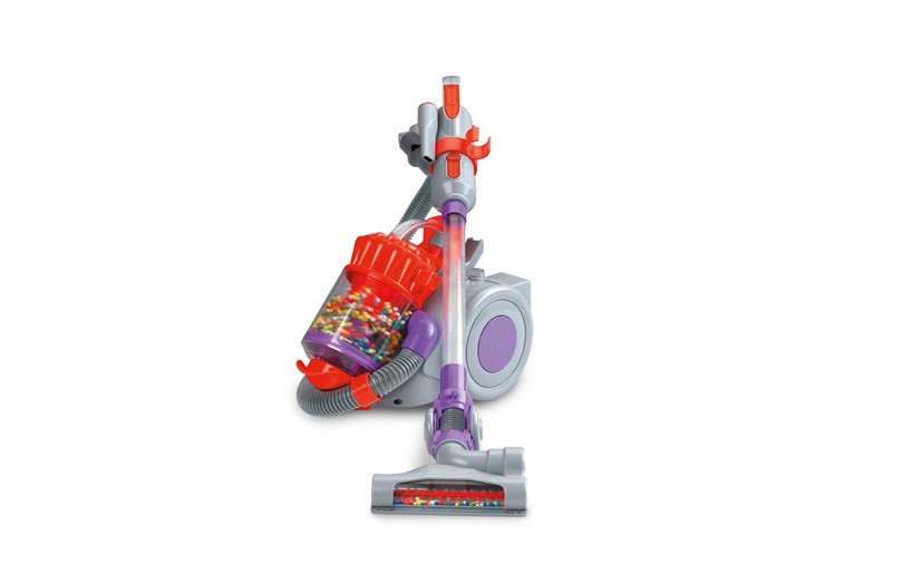Realistic and colorful cyclone action vacuum best for introducing household chores to the kids.