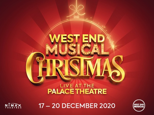 The West End Musical Christmas promotional poster.