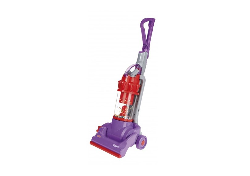 Fun while learning household chores by using DC14 replica vacuum.