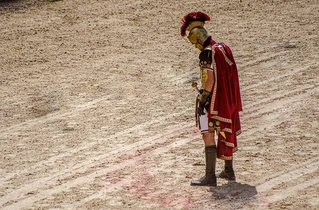 Gladiators had a short life-span since they fought with their life on the line.