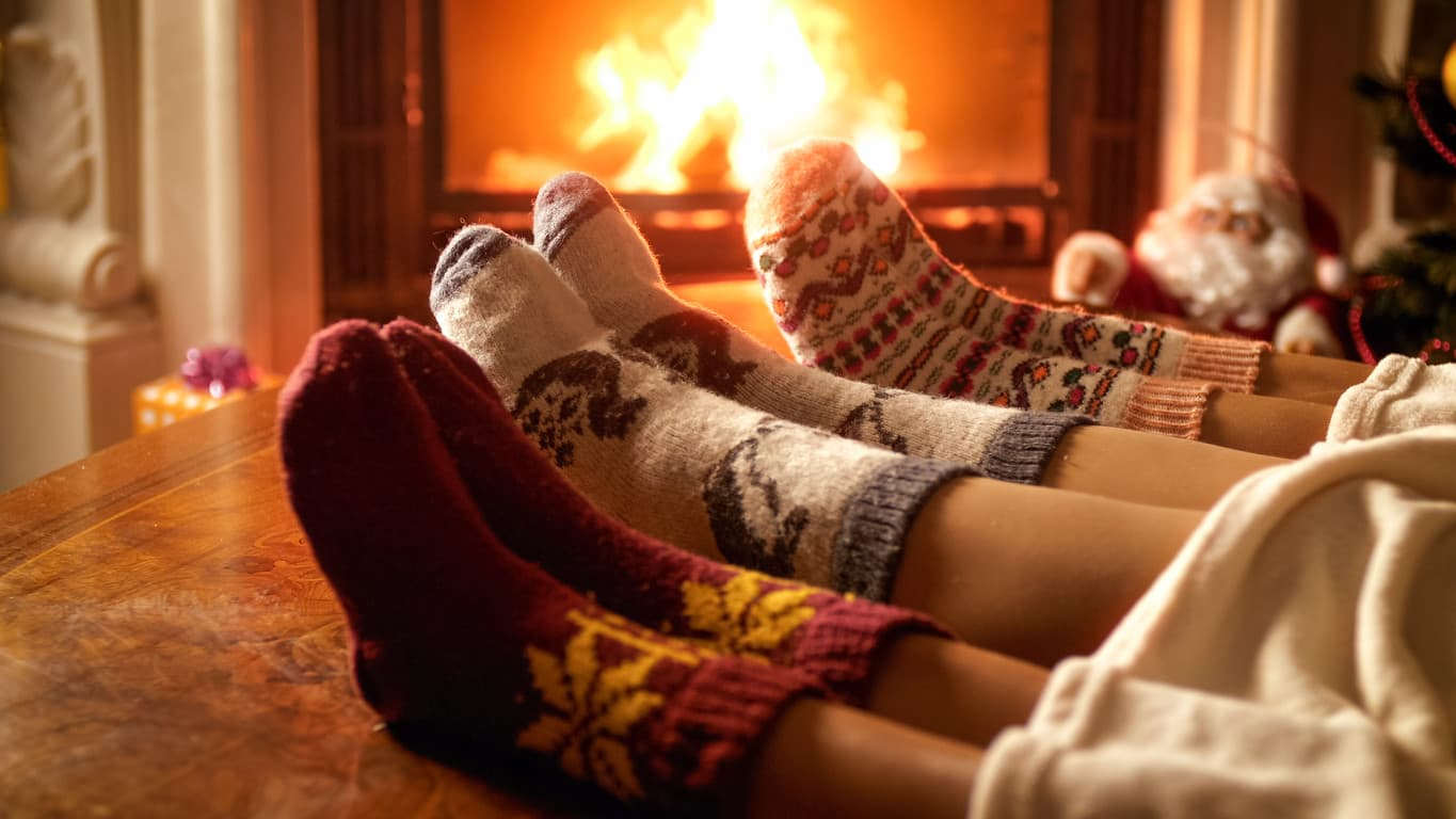As the days get shorter and the temperature drops, it could be quite nice to snuggle up and get cosy as a family.