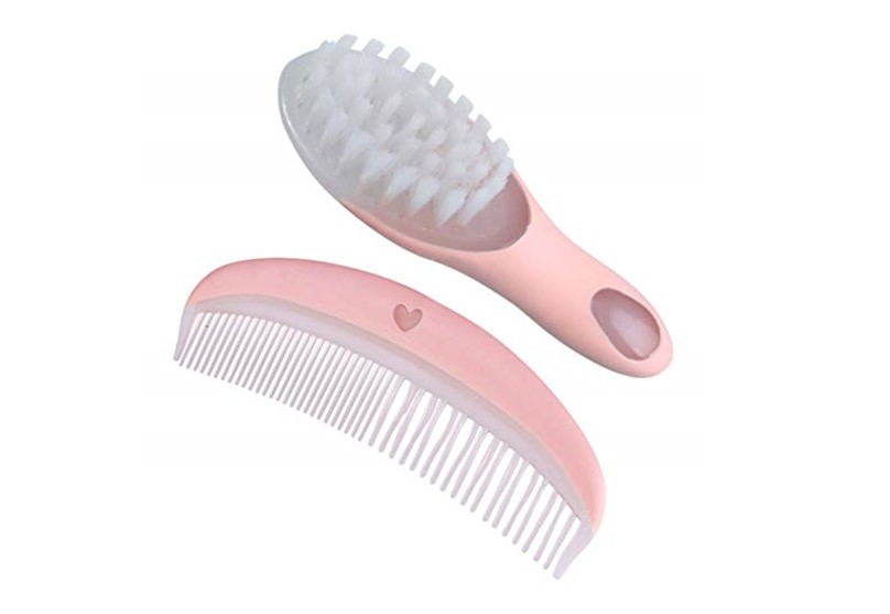 Hairbrush and comb that promotes blood circulation  and help brain development for the baby.