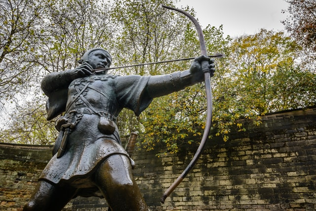 Robin Hood is the most famous thief.